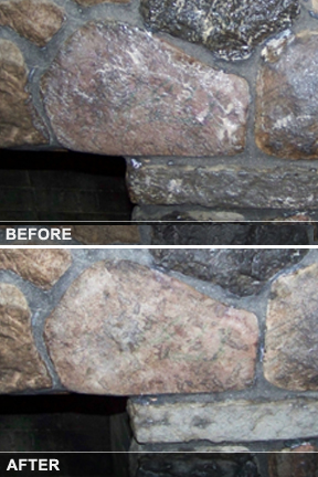 Make that dingy surface look new again. Soot & smoke will coat brick & stone with a black residue. Use the best tools & techniques to make cleaning it easy.