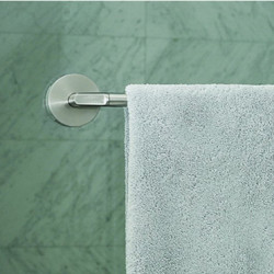 towel bar shower door