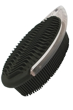 Deluxe rubber lint brush