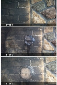 Clean Inside A Fireplace